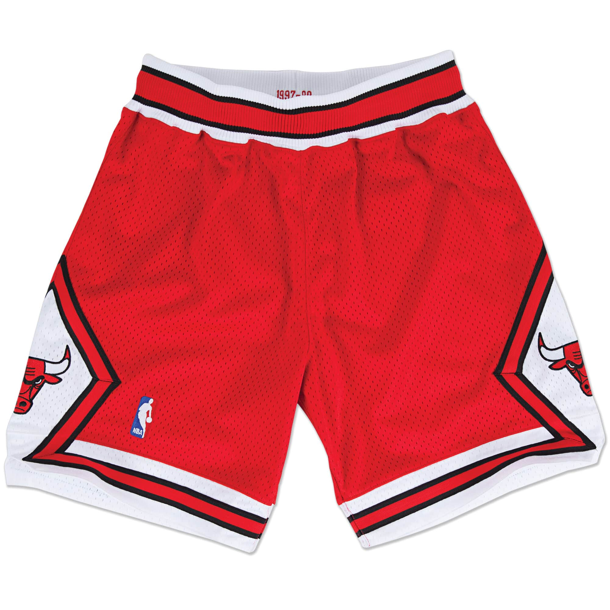 Authentic Shorts Chicago Bulls Road 1997-98