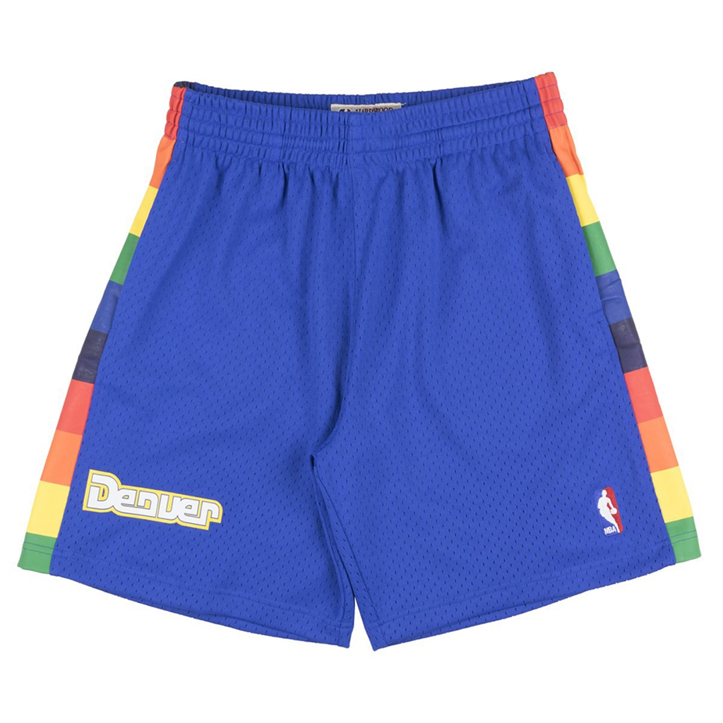 Mitchell & Ness Denver Nuggets NBA Men's Swingman Shorts