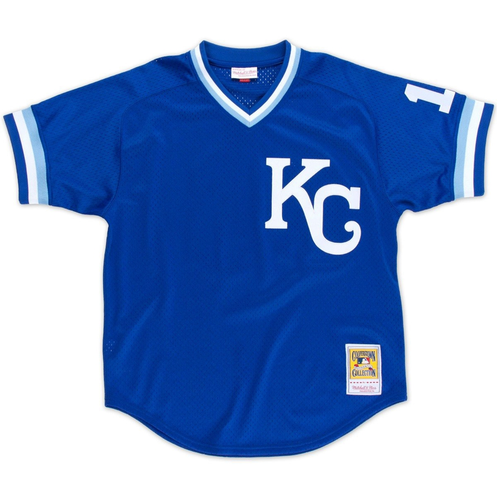 Mitchell & Ness Bo Jackson Kansas City Royals Authentic 1989 BP Jersey