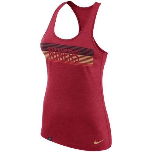 NFL San Francisco 49ers Women's Touch Performance Nike Tank Top - Red