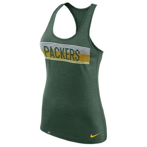 NFL Green Bay Packers Women's Touch Performance Nike Tank Top - Green
