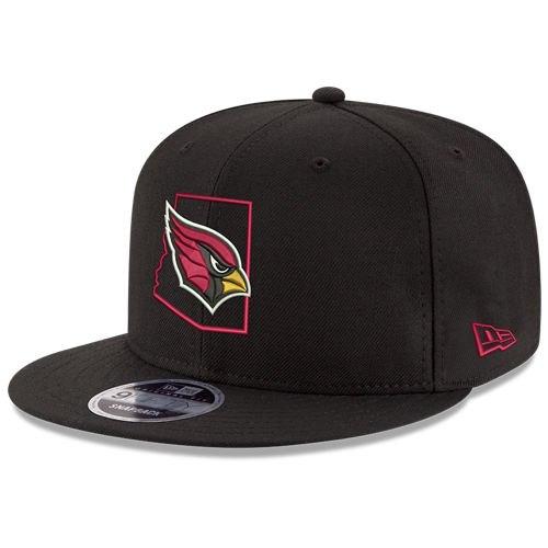 NFL Arizona Cardinals Native Outline Collection New Era 9FIFTY Snapback JSE Hat