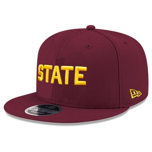 "NCAA Arizona State Sun Devils New Era ""STATE"" Fitted 59FIFTY JSE Hat"