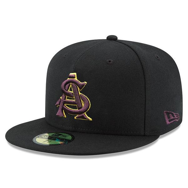 NCAA ARIZONA STATE SUN DEVILS A&S JSE 59FIFTY - BLACK